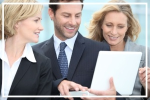 Business people on a part time mba in logistics and supply chain management in dubai