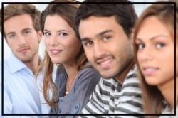 Line up of young people-postraduate-distance-learning-course.jpg
